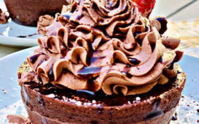 Mini Chocolate Cheesecakes by Dr. Shica Little