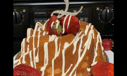 Strawberry Lemon Pound Cake by Lisa Savage