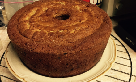 Old Fashion Pound Cake by Claudette Ross