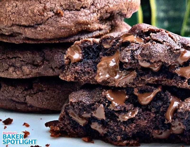 Triple Chocolate Cookies by Dr. Shica Little