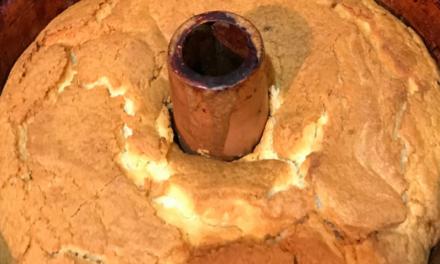 Cream Cheese Pound Cake by Shirley Vanhorn