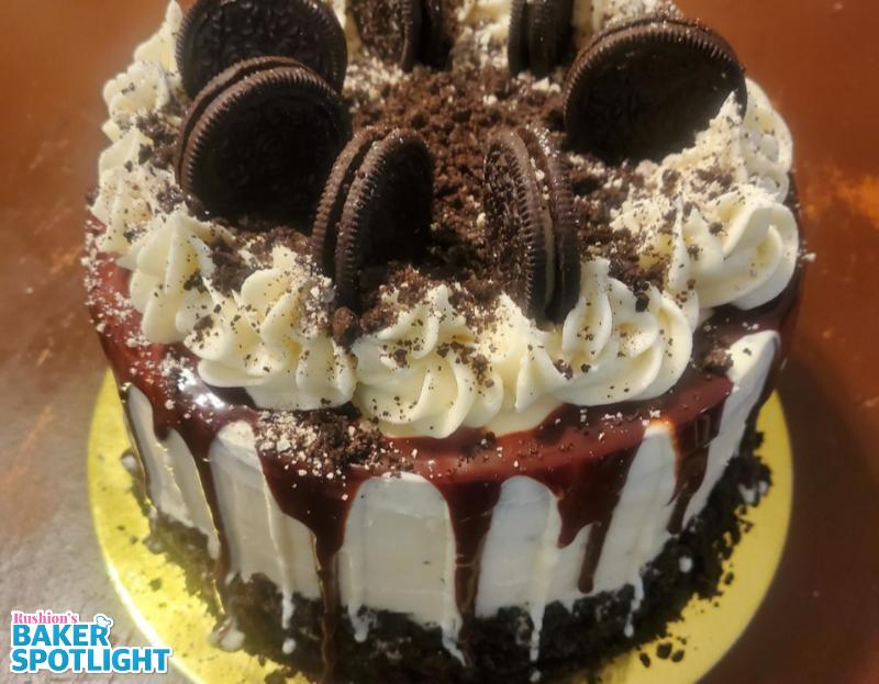 Cookies & Cream Chocolate Cake by Lakesia Williams