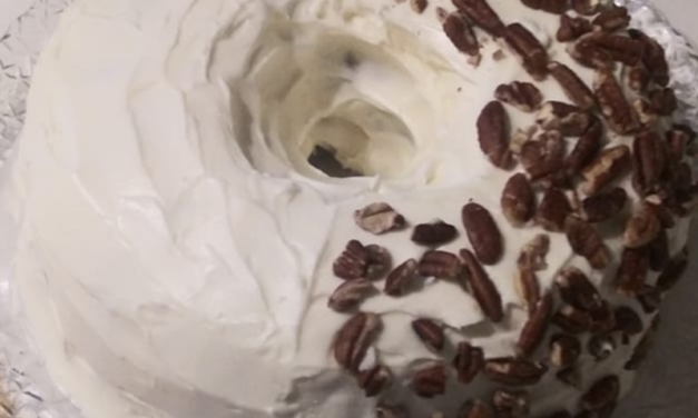 Red Velvet Bundt Cake by Kimberly Benson