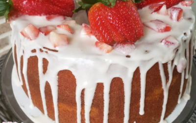 Strawberry Pound Cake by Michelle Glover