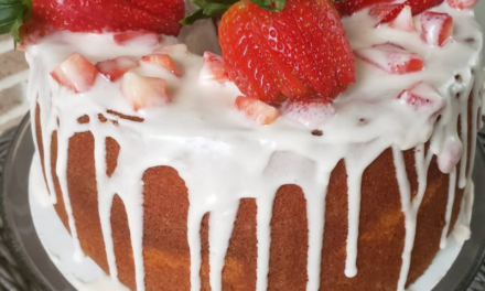 Strawberry Pound Cake by Michelle Glover