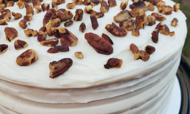 Butter Pecan Cake by Michelle Glover
