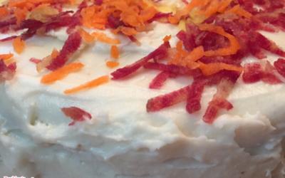 Rainbow Carrot Cake by Monica Sapp-Willis