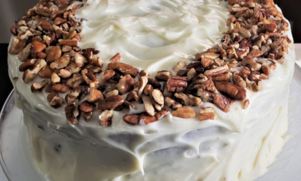 Mouthwatering Carrot Cake by Evelyn Ragland
