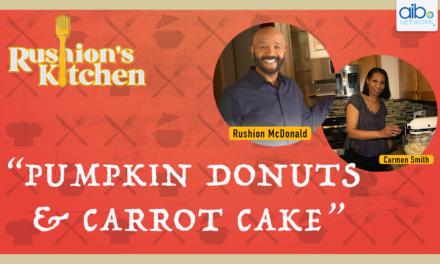 Pumpkin Donuts & Carrot Cake