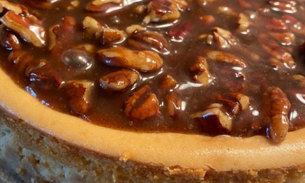 Pecan Pie Cheesecake by Deborah Guy