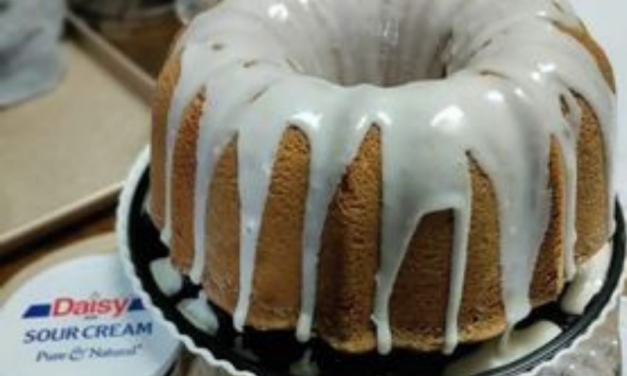 Sour Cream Pound Cake by Galanda Williams